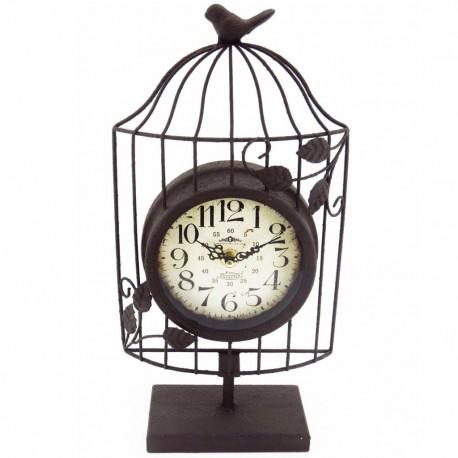 Reloj de Mesa Jaula Café - Envío Gratuito