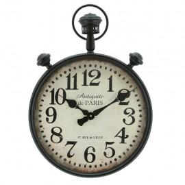 Reloj de Pared Bolsillo Gigante Negro