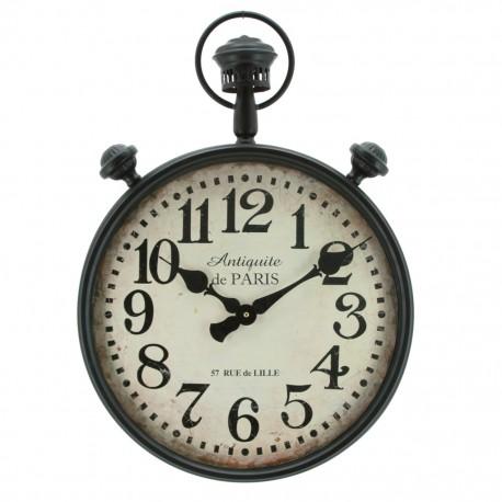 Reloj de Pared Bolsillo Gigante Negro - Envío Gratuito