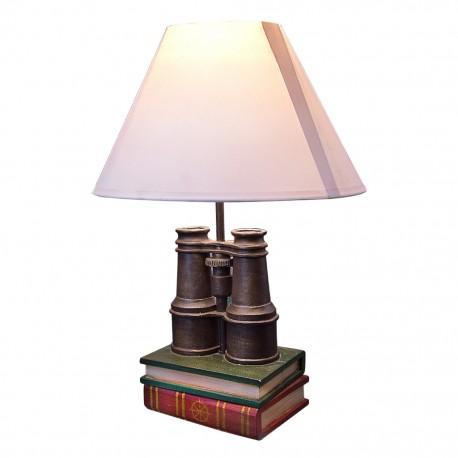 Lámpara de Mesa Libros y Binoculares - Envío Gratuito