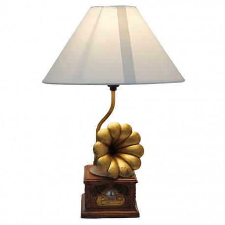 Lámpara de Mesa Fonógrafo - Envío Gratuito