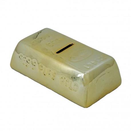 Alcancía Lingote de Oro - Envío Gratuito