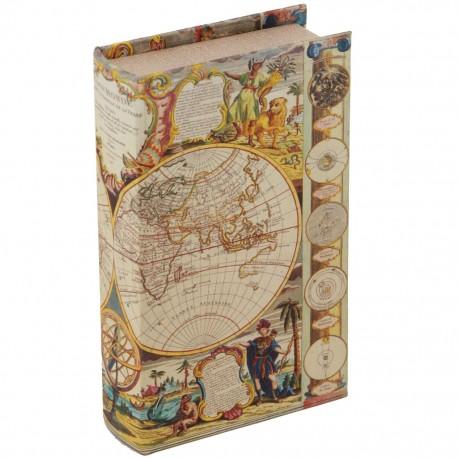 Caja Libro Mapamundi - Envío Gratuito