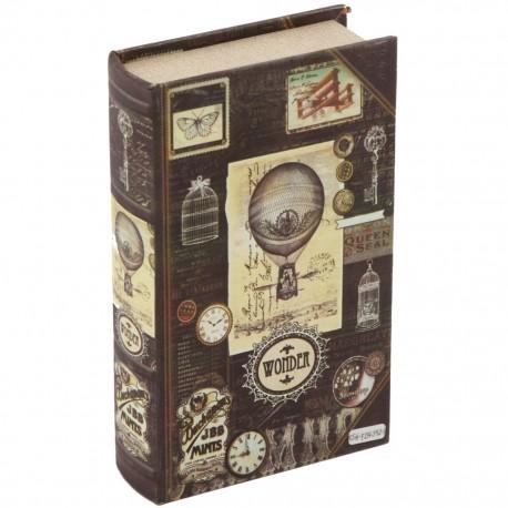 Caja Libro Globo Aerostático - Envío Gratuito