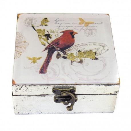 Caja decorativa Pájaro - Envío Gratuito