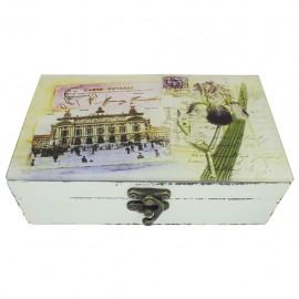 Caja decorativa Postal