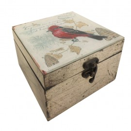 Caja decorativa Mediana Pájaro