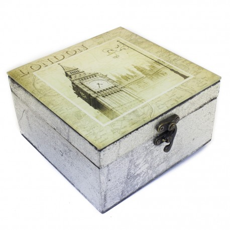 Caja decorativa Londres - Envío Gratuito