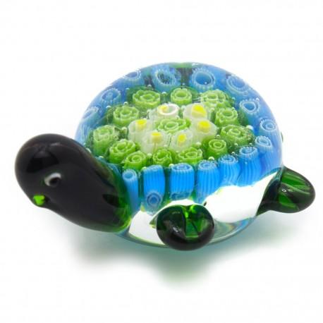 Figura Decorativa de Vidrio Tortuga Verde - Envío Gratuito