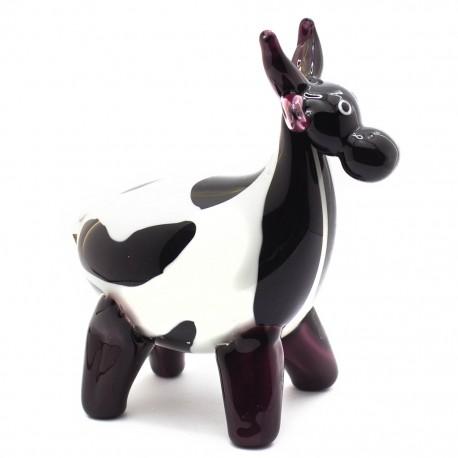 Figura Decorativa de Vidrio Vaca - Envío Gratuito