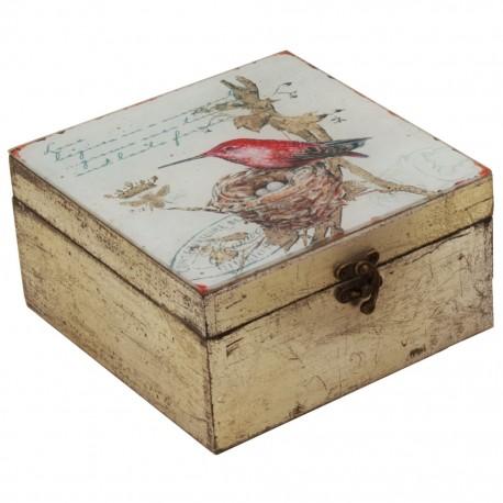 Caja decorativa Grande Pájaro - Envío Gratuito