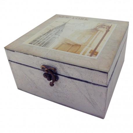 Caja decorativa New York - Envío Gratuito