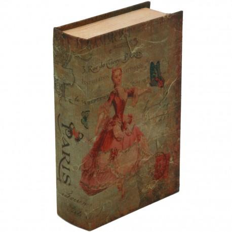 Caja Libro Parisino - Envío Gratuito