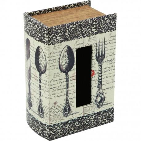 Caja para Pañuelos Libro Cubiertos - Envío Gratuito