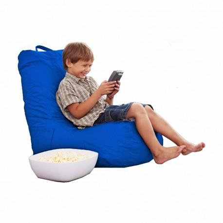 Puff Lounge Kids Acabado Nylon Varios Colores - Envío Gratuito