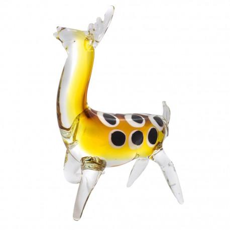 Figura Decorativa de Vidrio Venado - Envío Gratuito