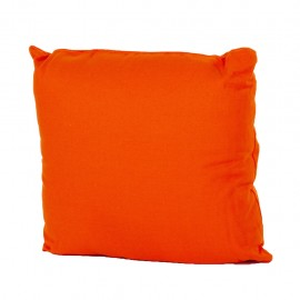 Cojin Loneta Con Cierre 40 X 40 cm Naranja CasaMia