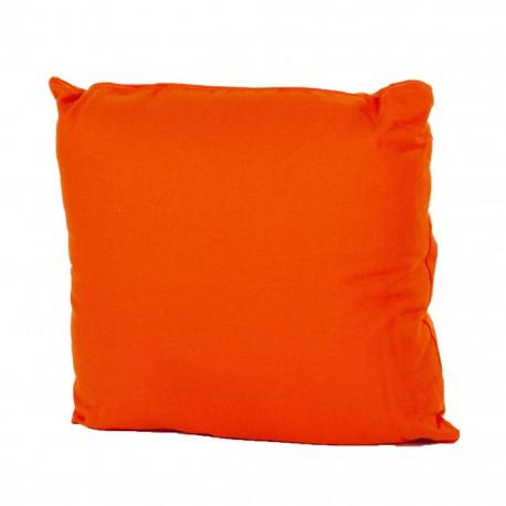 Cojin Loneta Con Cierre 40 X 40 cm Naranja CasaMia - Envío Gratuito