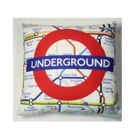 Cojín decorativo 40 X 40 Cm Underground CasaMia - Envío Gratuito