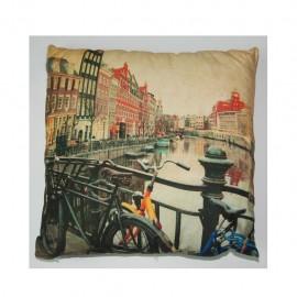Cojín decorativo 40 X 40 Cm Amsterdam CasaMia - Envío Gratuito