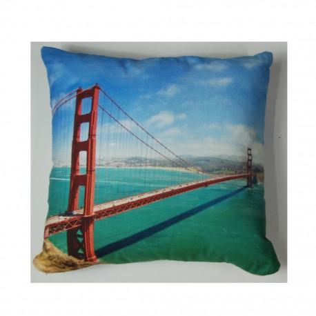 Cojín Decorativo 40 X 40 cm San Francisco CasaMia - Envío Gratuito