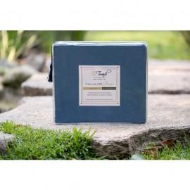 Sábanas Matrimoniales en color Azul 1800 Hilos o Fibras Ultra Finas