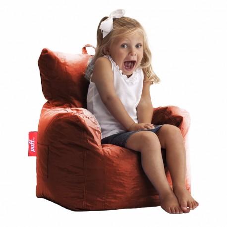 Puff Couch Kids Acabado Tacto Piel Varios Colores - Envío Gratuito