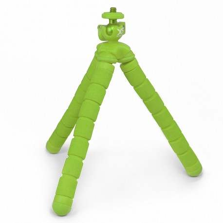 Tripié para cámaras deportivas XSories Big Bendy verde - Envío Gratuito