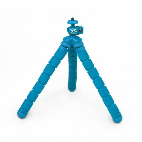 Tripié para cámaras deportivas XSories Big Bendy Azul - Envío Gratuito