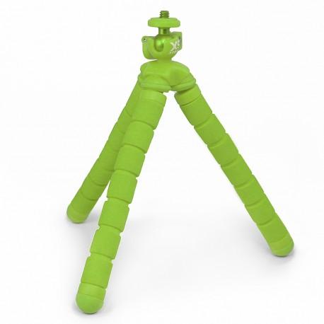 Tripié para cámaras deportivas XSories Bendy Verde - Envío Gratuito