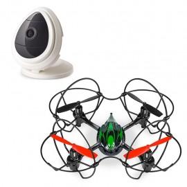 Drone Quadrone  Cámara de seguridad Denali