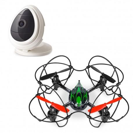 Drone Quadrone  Cámara de seguridad Denali - Envío Gratuito