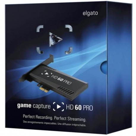 Capturadora Elgato Game Capture Hd60 Pro - Envío Gratuito