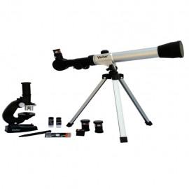 Juego de Telescopio / Microscopio