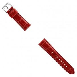 Bandas Pulsera Samsung Alligator Para Gear S3 Rojo