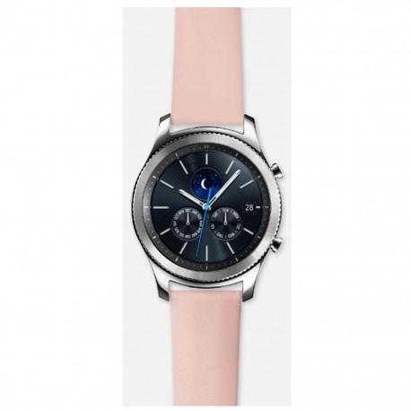 Bandas Pulseras Para Gear S3 Strap Nappa Rosa Acce Samsung - Envío Gratuito