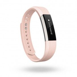 Fitbit Alta Accessory Band Leather Blush Pink