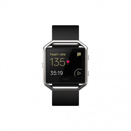 Fitbit Blaze Smart Fitness Watch Black Silver - Envío Gratuito