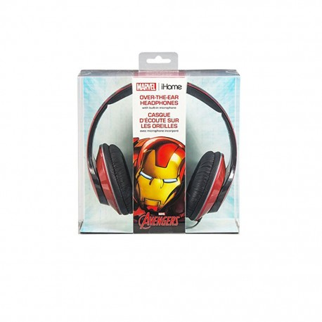 Audifonos Multimedia Marvel IronMan - Envío Gratuito