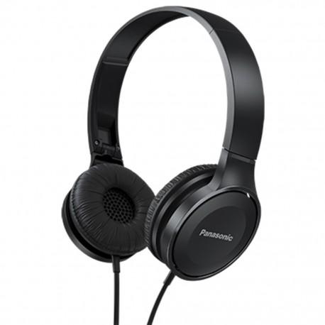 Audífonos Panasonic RP-HF100E Negros - Envío Gratuito