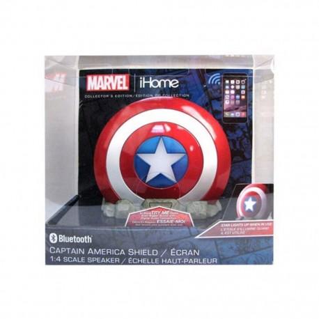 Bocina Bluetooth Marvel Capitan America - Envío Gratuito