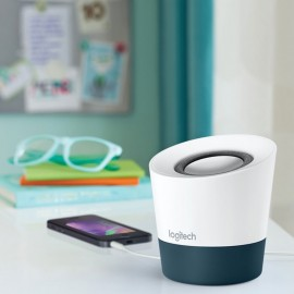 Bocina Bluetooth Logitech Z51 Multimedia Blanco con Gris - Envío Gratuito