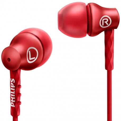 Audífonos Philips SHE8100/RD Rojo - Envío Gratuito