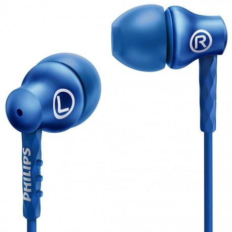 Audífonos Philips SHE8100/BL Azul - Envío Gratuito
