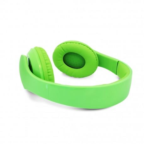Audífonos Diadema Vorago HP-204 Verde - Envío Gratuito