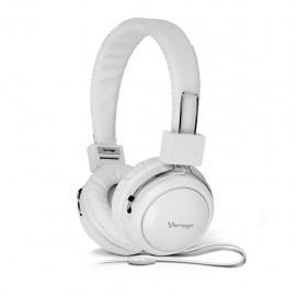 Audífono Diadema Vorago HP-300 Blanco