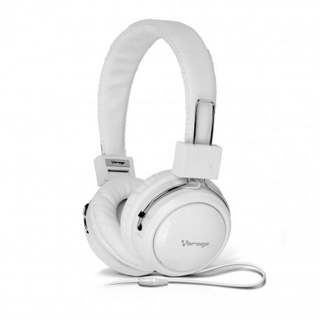 Audífono Diadema Vorago HP-300 Blanco - Envío Gratuito