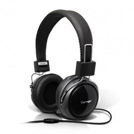 Audífonos Diadema Vorago HP-300 Negro