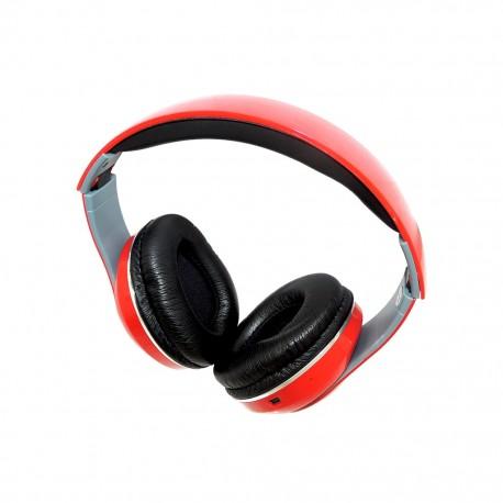 Audífonos Patish Plegable Over Ear Rojos - Envío Gratuito
