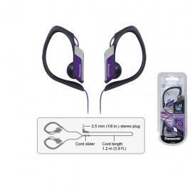 Audífonos Panasonic Negro/Morado